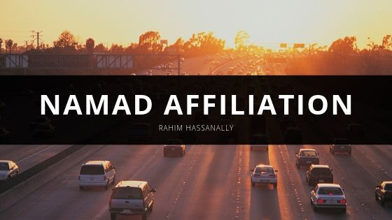 Rahim Hassanally Reveals More About Namad Affiliation